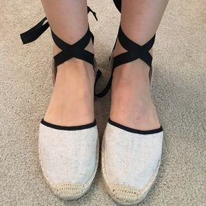 Lace up Espadrilles Soludos
